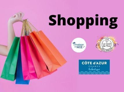 Shopping souvenir de votre séjour à Nice